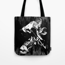 Ice Hockey Goalie Tote Bag