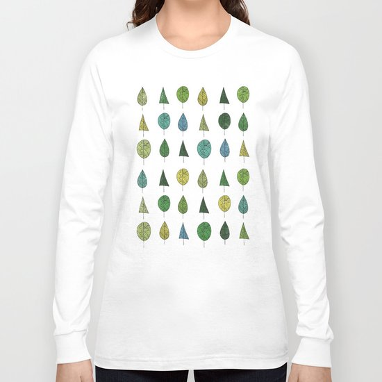 TREES MAKE A FOREST Long Sleeve T-shirt