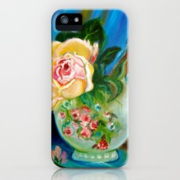 Rose and Candle iPhone Case