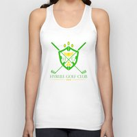 hyrule Tank Tops featuring Hyrule Golf by reyrol