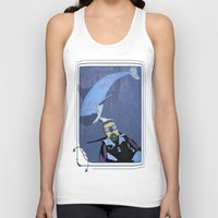 scuba Tank Tops featuring Scuba diver by Aquamarine Studio