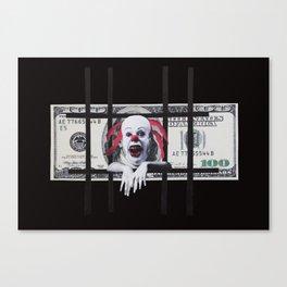 100 Dollar Bill Canvas Print
