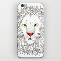 oana befort iPhone & iPod Skins featuring LION by Oana Befort
