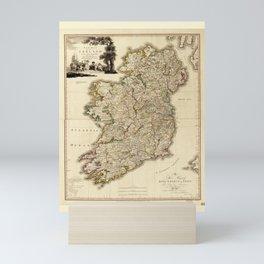 Map of Ireland by William Faden (1797) Mini Art Print
