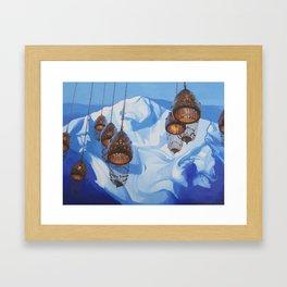 Future Memories (Milk Lake Glacier) Framed Art Print