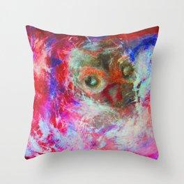Abstract Owl   #society6 #decor #buyart Throw Pillow