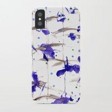 orchil rain iPhone X Slim Case