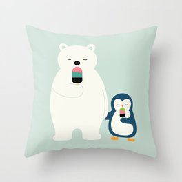 Stay Cool Throw Pillow