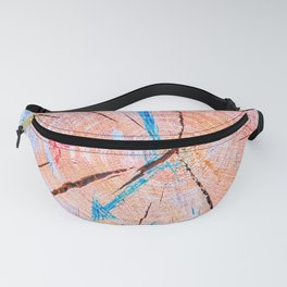 Wooden Clock Fanny Pack