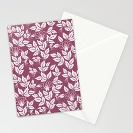 Leaves Pattern 6 Stationery Cards