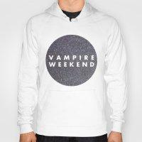vampire weekend Hoodies featuring Vampire Weekend glitters logo by Elianne