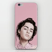khaleesi iPhone & iPod Skins featuring Emilia  by Gatto Viola Designs by Alessandra Ragusa