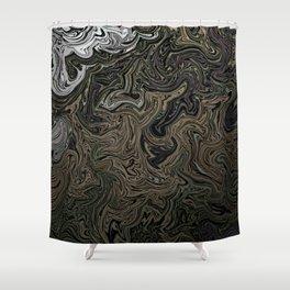 Miliary Gar Shower Curtain