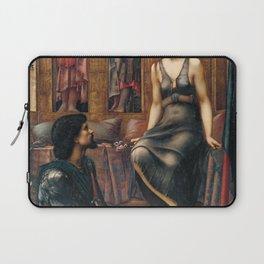 Edward Burne-Jones - King Cophetua and the Beggar Maid Laptop Sleeve
