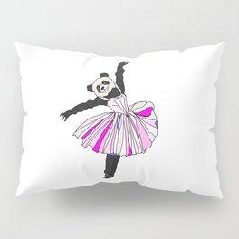 Panda Bear Ballerina Tutu Pillow Sham