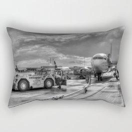 Pegasus Airlines Stanstead Airport Rectangular Pillow