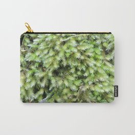 TEXTURES -- Moss on a Tree Trunk Carry-All Pouch
