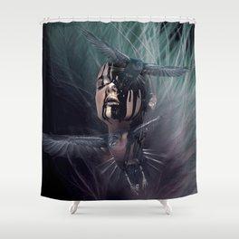 Jamais plus Shower Curtain