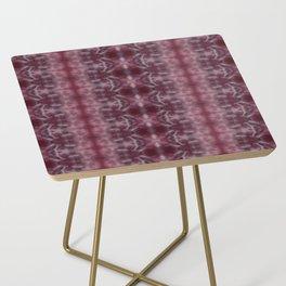 Shades of Wine Shibori Side Table