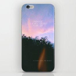 Paradise. iPhone Skin