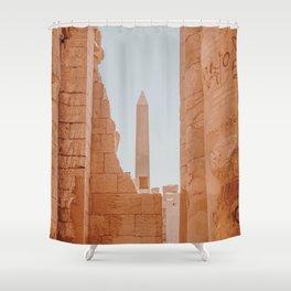 Karnak II / Egypt Shower Curtain