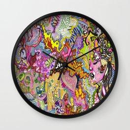 Madame Wall Clock
