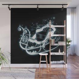 fairytale sleigh Wall Mural