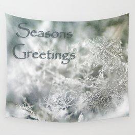 Seasons Greetings Wall Tapestry