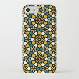Persian Mosaic – Marigold Palette iPhone Case