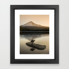The Oregon Duck II - The Shake Framed Art Print
