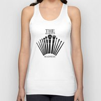 makeup Tank Tops featuring makeup/3 by n8 (nate)