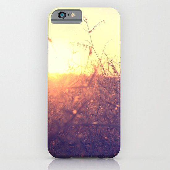 Evening in Summer iPhone & iPod Case