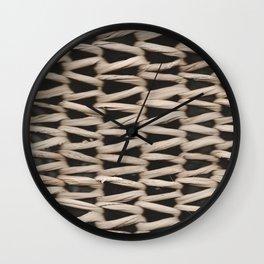 Lg. Weave Pattern Wall Clock