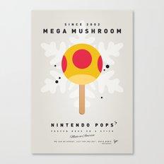 My NINTENDO ICE POP - Mega Mushroom Canvas Print