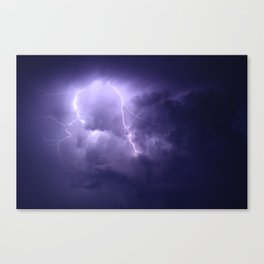 Lightning Imbalance  Canvas Print