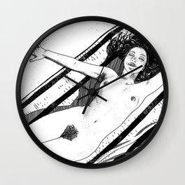 asc 489 - Le bonheur sans fin (Eternal bliss) Wall Clock