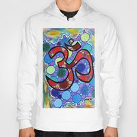 om Hoodies featuring OM by Art By Carob