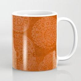 Tribal Terracota Rounds Coffee Mug