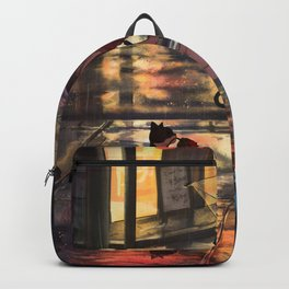 Life is precious Original Artwork Backpack