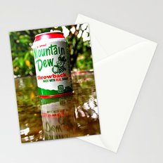 Mountain Dew reflected Stationery Cards