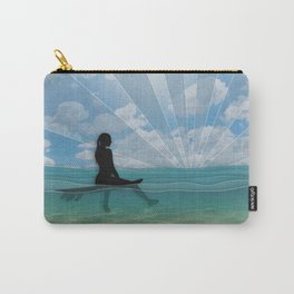 View from a Surfboard Carry-All Pouch