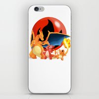 Spit Fires iPhone & iPod Skin