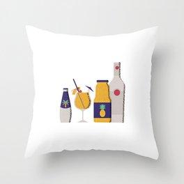 Piña Colada Throw Pillow