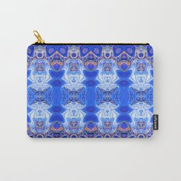 3D Abstract Fractal Carry-All Pouch