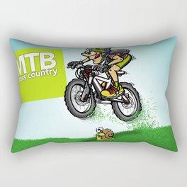 MTB cross country Rectangular Pillow
