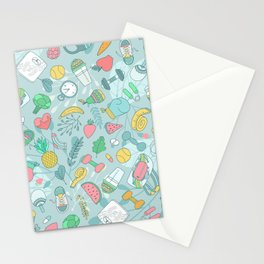 Fitness Stationery Cards