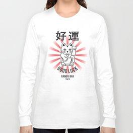 Good Luck Ramen Bar Tokyo Long Sleeve T-shirt