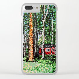 The Escape Hut Clear iPhone Case