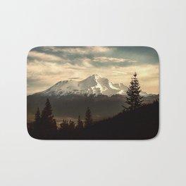 Mount Shasta Waking Up Bath Mat