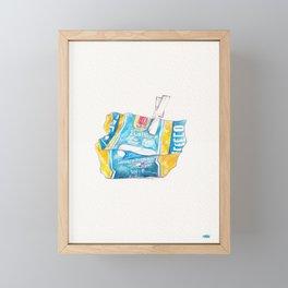 Pasta Framed Mini Art Print